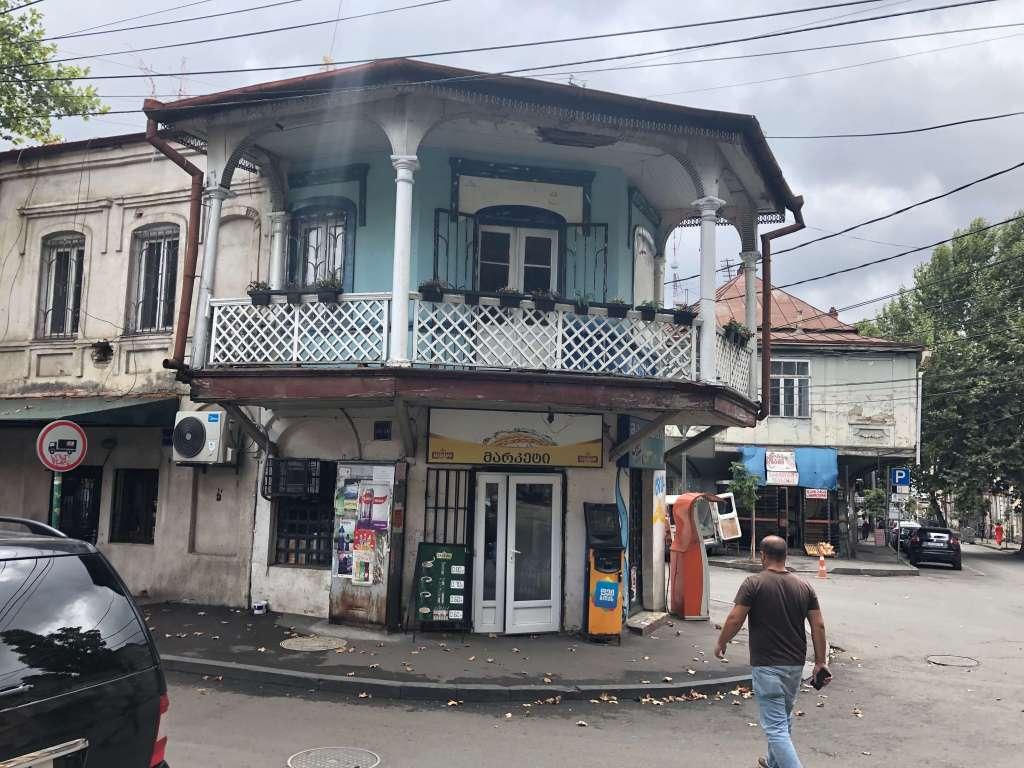 Residential Street in Tbilisi, Georgia