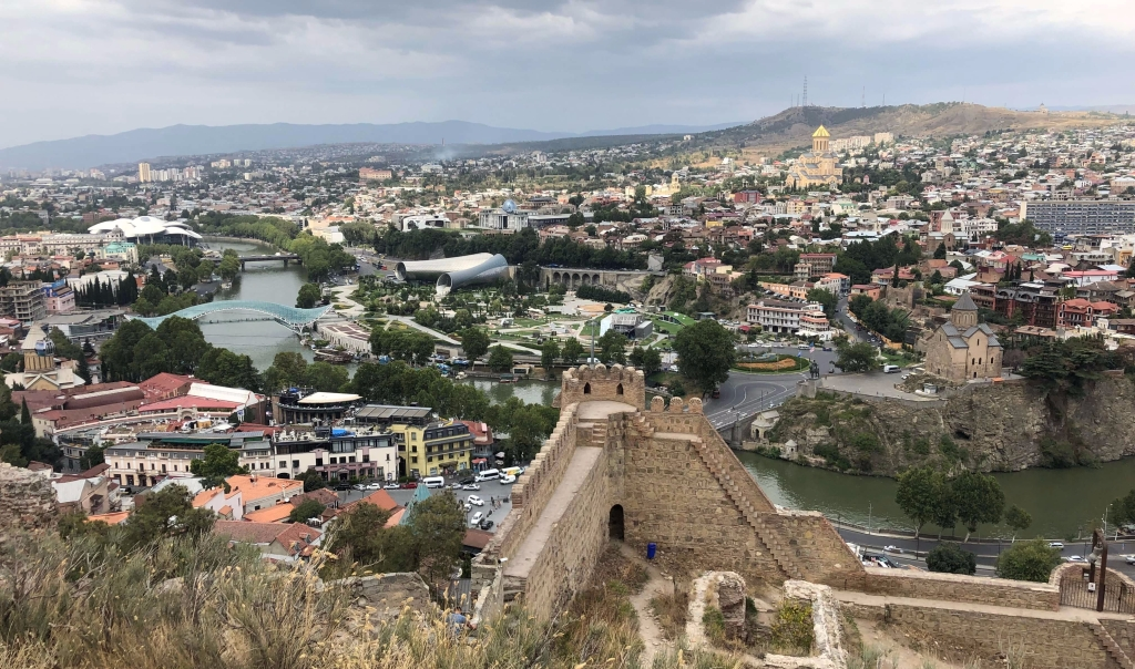 View Over Tbilisi, Georgia