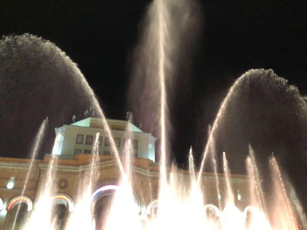 Dancing Fountain Show in Yerevan, Armenia