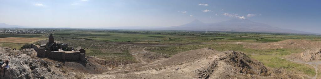 Khor Virap Panorama, Armenia