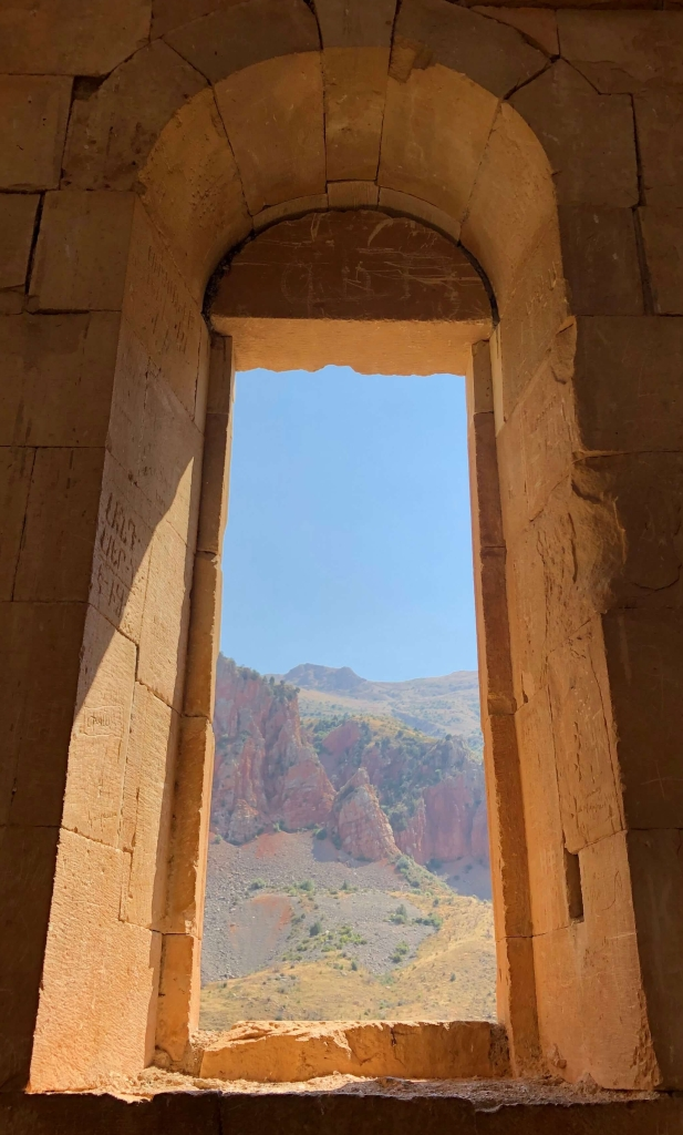 Window, Noravank Monastery, Armenia