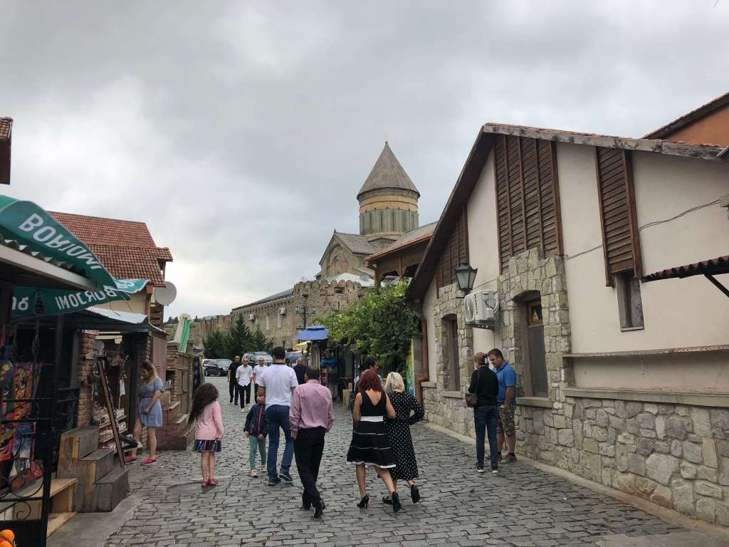 Street in Mtskheta, Georgia
