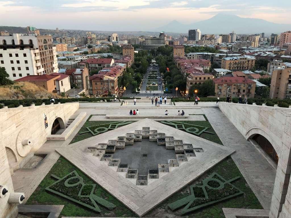 The Cascade, Yerevan, Armenia