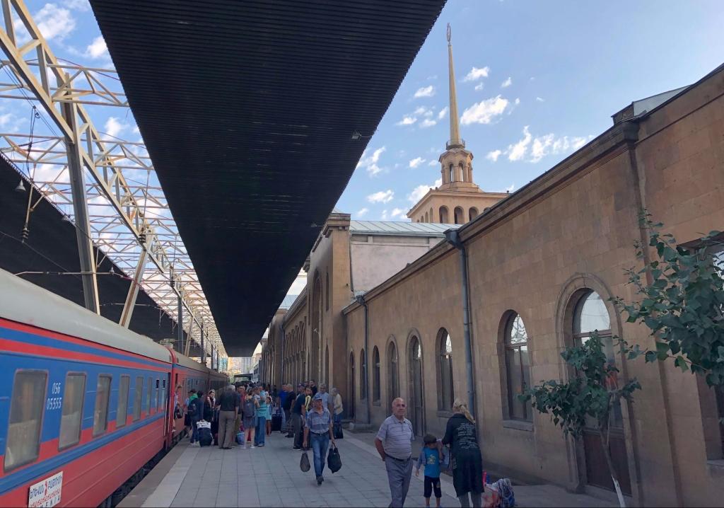 Yerevan Train Station, Yerevan, Armenia