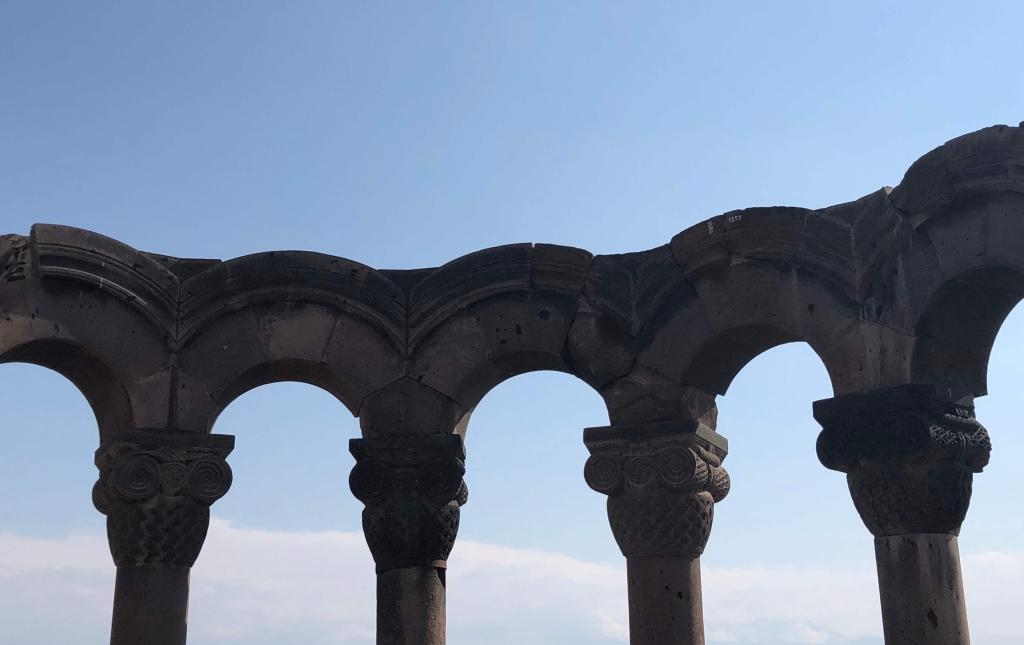 Zvartnots Cathedral, Etchmiadzin, Armenia