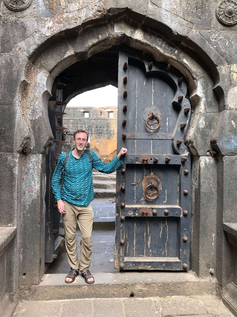 Lohagad Fort Entrance, Lonavala, Maharashtra, India