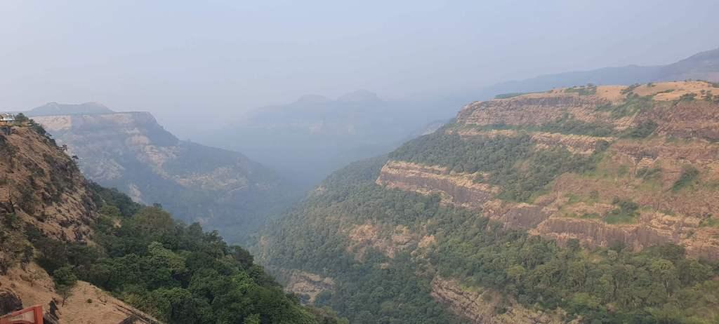 Landscape Near Lonavala, Maharashtra, India