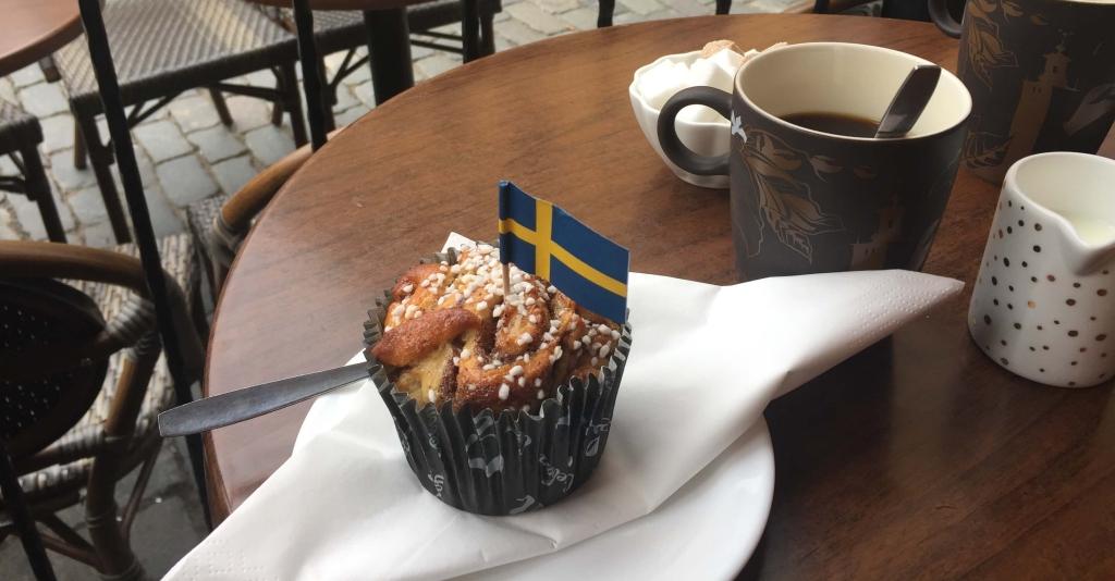 Fika in Gamla Stan, Stockholm, Sverige
