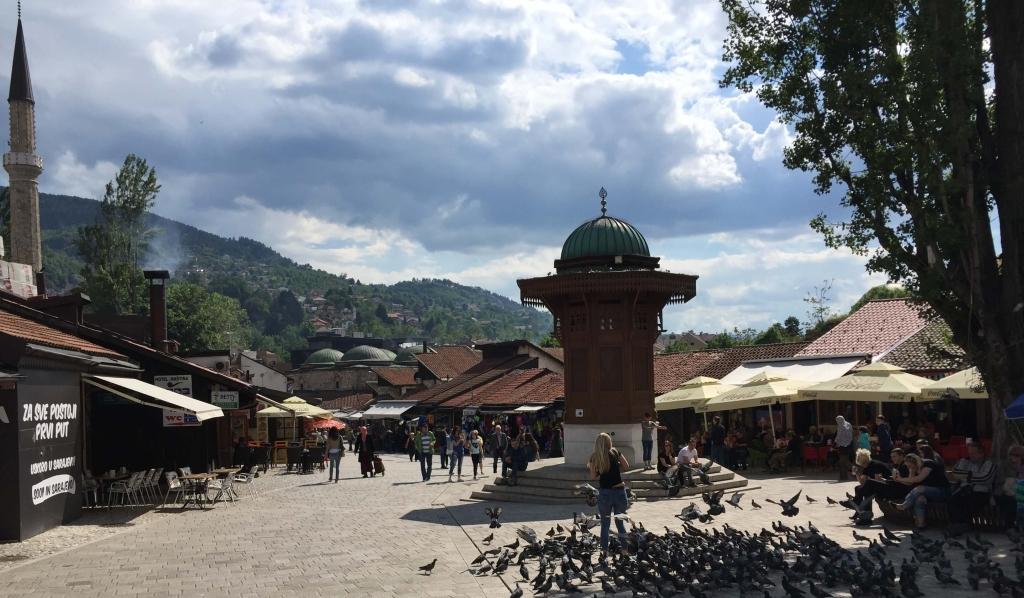 Baščaršija, Sarajevo, Bosnia & Herzegovina