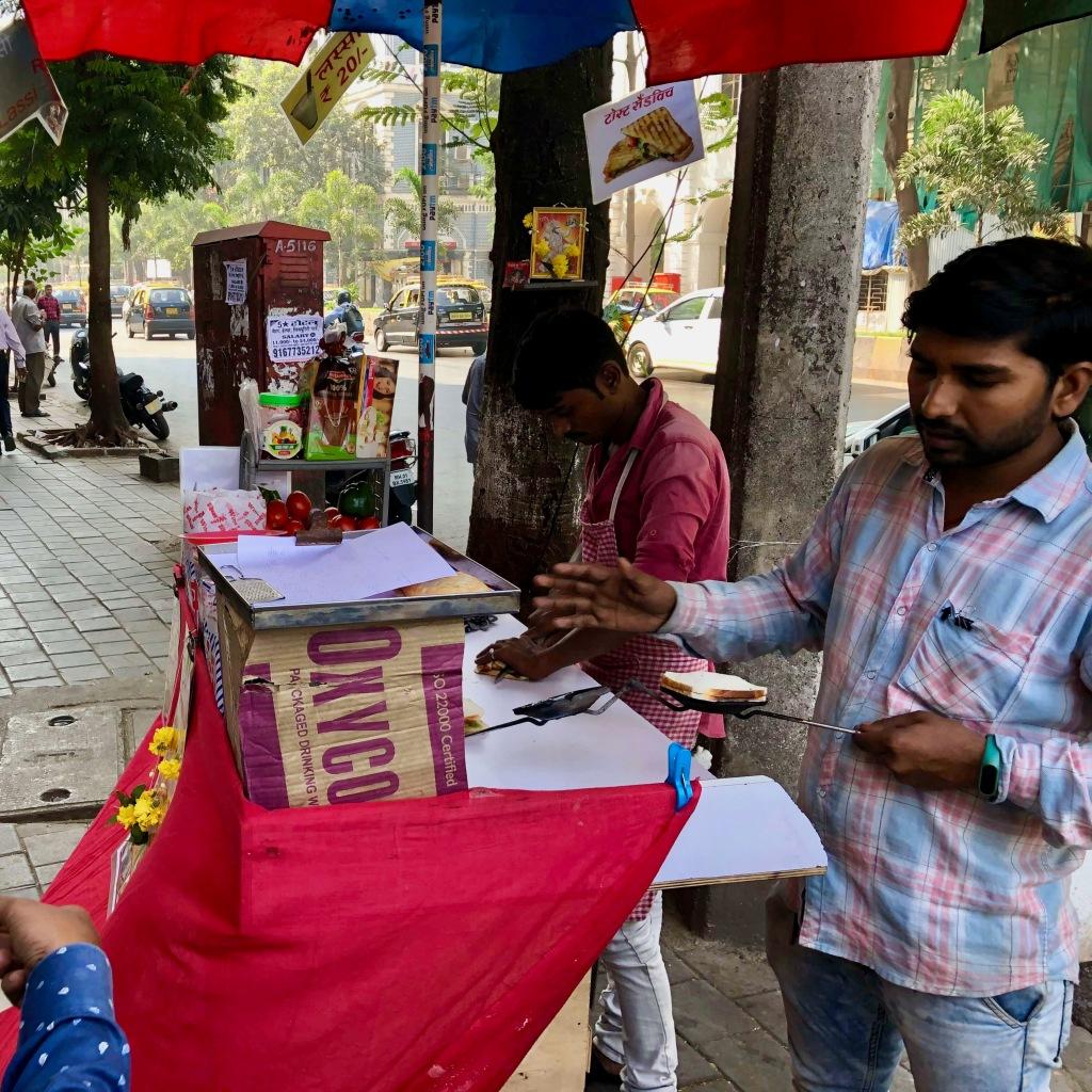 Street Food Cart, Mumbai, Maharashtra, India