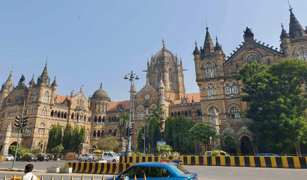 Chhatrapati Shivaji Maharaj Terminus (Victoria Terminus), Mumbai, Maharashtra, India