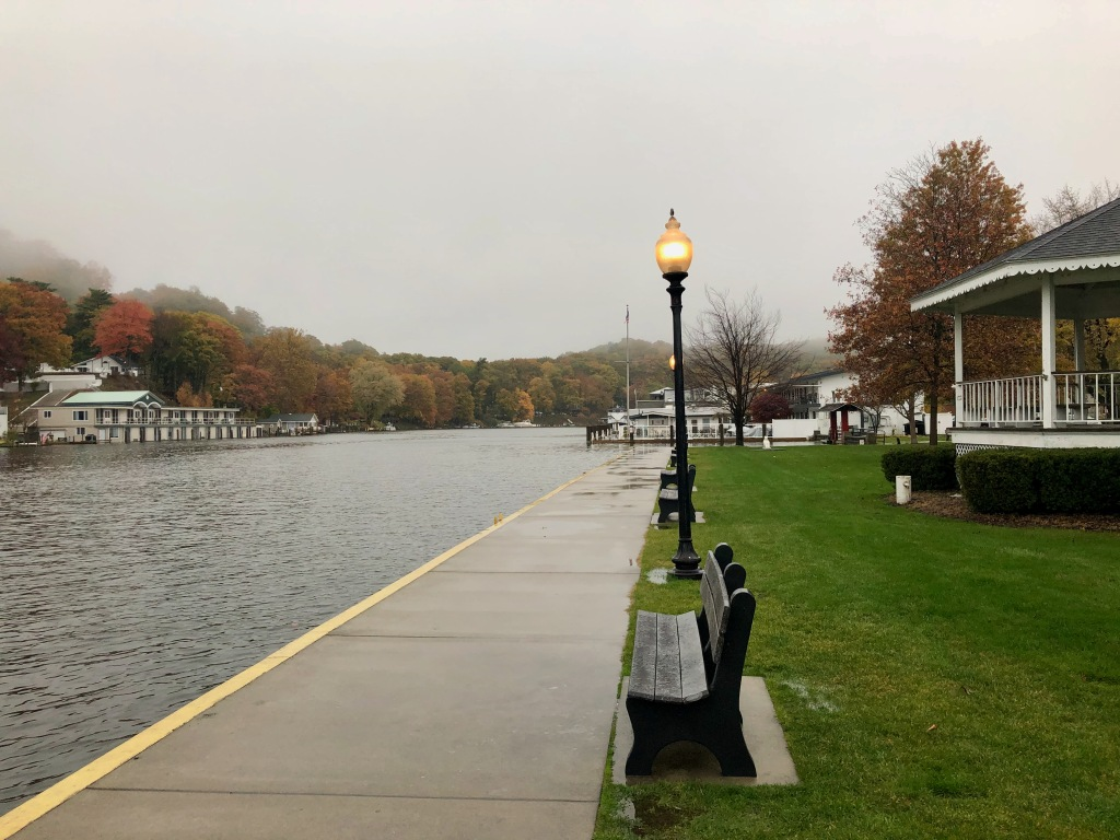 Rainy Day in Saugatuck, Michigan, USA