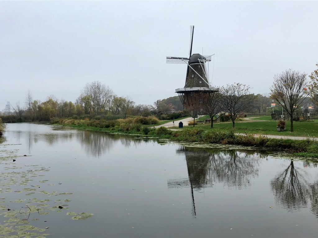 De Zwaan Windmill, Holland, Michigan, USA